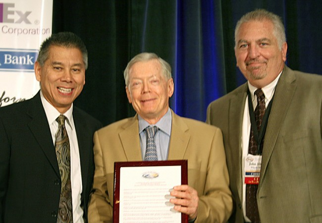California Trucking Association Honors Paul Bennett