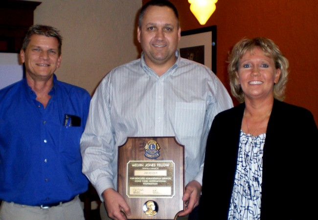 Lions Club Posthumously Honors Jim Keizer of Mid-States Utility Trailer Sales
